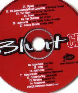 Cover - 1208: Blunt CD Issue #06
