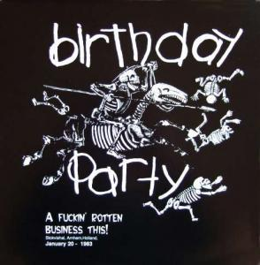 Birthday Party, The: Fuckin' Rotten Business This!, A - Cover
