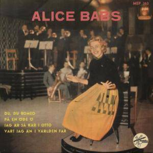 Cover - Alice Babs: Alice Babs EP