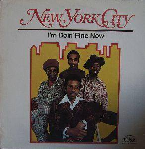 Cover - New York City: I'm Doin' Fine Now