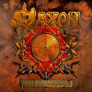 Saxon: Into The Labyrinth - Cover