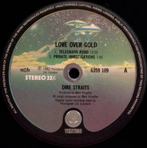 Dire Straits: Love Over Gold (LP) - Bild 2