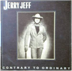 Cover - Jerry Jeff Walker: Contrary To Ordinary