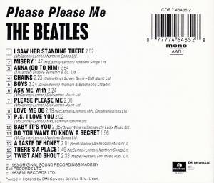 The Beatles: Please Please Me (CD) - Bild 2