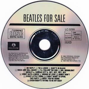 The Beatles: Beatles For Sale (CD) - Bild 3