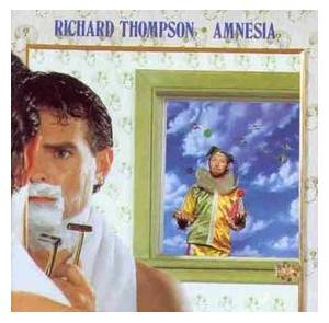 Richard Thompson: Amnesia - Cover