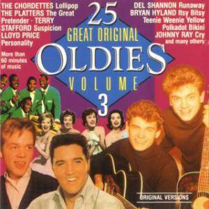 Cover - Randy & The Rainbows: 25 Great Original Oldies Vol. 3