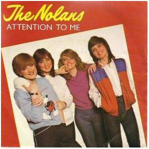 Cover - Nolans, The: Attention To Me