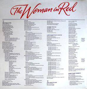 Stevie Wonder / Dionne Warwick / Dionne Warwick & Stevie Wonder: The Woman In Red (Split-LP) - Bild 5