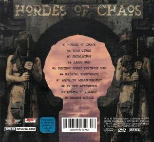 Kreator: Hordes Of Chaos (CD + DVD) - Bild 3