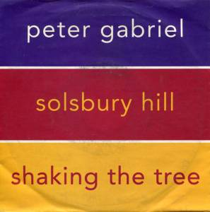Peter Gabriel: Solsbury Hill / Shaking The Tree - Cover