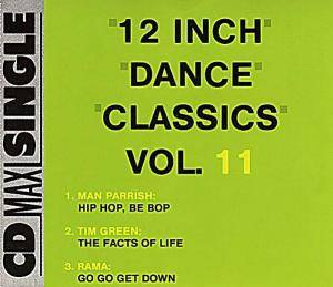 12 Inch Dance Classics Vol. 11 - Cover