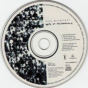 Paul McCartney: Hope Of Deliverance (Single-CD) - Bild 2