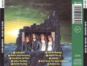 Blind Guardian: Follow The Blind (CD) - Bild 2