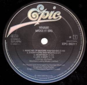 Wham!: Make It Big (LP) - Bild 2