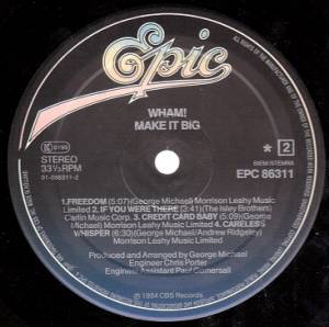 Wham!: Make It Big (LP) - Bild 3