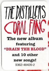 The Distillers: Coral Fang (CD) - Bild 4