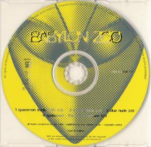 Babylon Zoo: Spaceman (Single-CD) - Bild 3