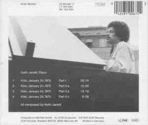 Keith Jarrett: The Köln Concert (CD) - Bild 2