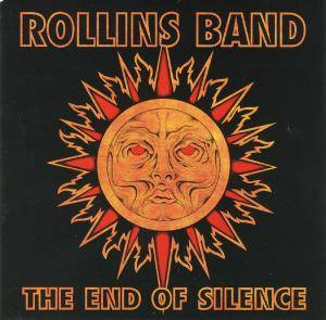 Cover - Rollins Band: End Of Silence, The