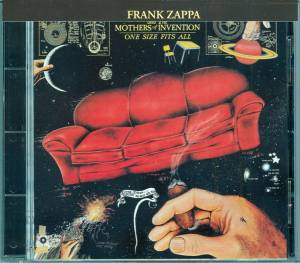 Frank Zappa & The Mothers Of Invention: One Size Fits All - Cover