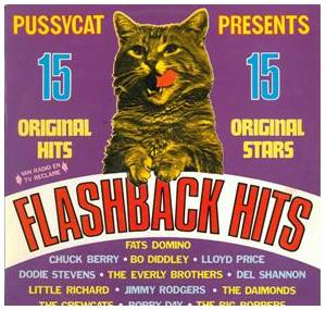 Pussycat Presents 15 Flashback Hits - Cover