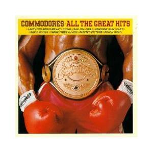 Commodores: All The Great Hits - Cover