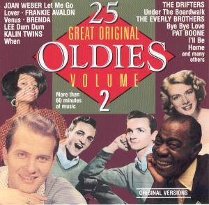 Cover - Kalin Twins: 25 Great Original Oldies Vol. 2
