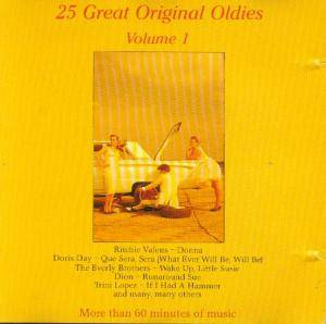 Cover - Duprees, The: 25 Great Original Oldies Vol. 1