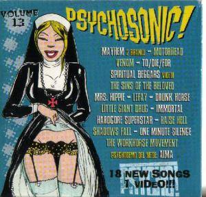 Cover - Lefay: Psychosonic!! Vol. 13