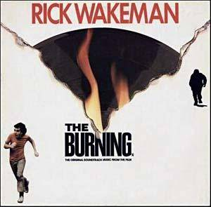 Rick Wakeman: Burning, The - Cover