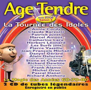 Cover - Richard Anthony: Age Tendre - La Tournée Des Idoles Vol. 3