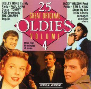 Cover - Ink Spots, The: 25 Great Original Oldies Vol. 4