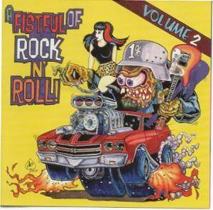 Fistful Of Rock'n Roll - Volume 2, A - Cover