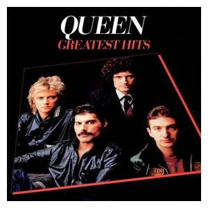 Queen: Greatest Hits - Cover