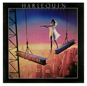 Harlequin: One False Move - Cover