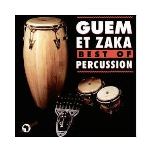 Guem Et Zaka: Best Of Percussion - Cover