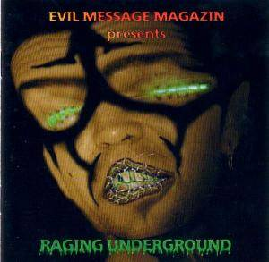 Cover - Eternal Peace: Evil Message - Raging Underground