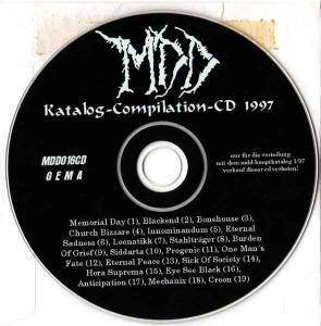 Cover - Eternal Peace: MDD Katalog-Compilation-CD 1997