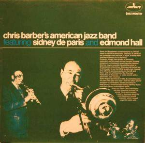 Cover - Chris Barber: Chris Barber's American Jazz Band