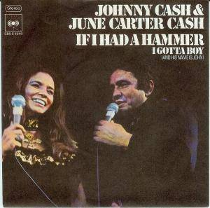 Cover - Johnny Cash & June Carter Cash: If I Had A Hammer