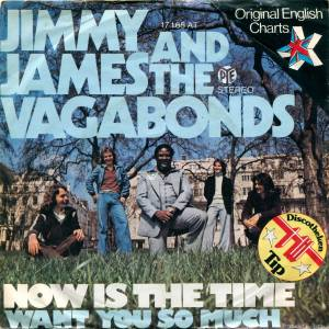 Cover - Jimmy James & The Vagabonds: Now Is The Time
