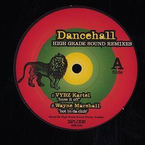 Cover - Vybz Kartel: Dancehall - High Grade Sound Remixes