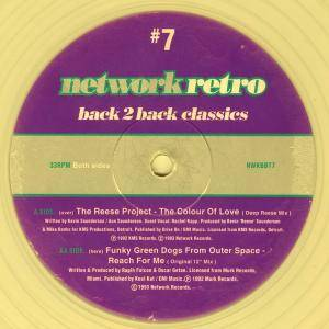 Cover - Reese Project, The: Network Retro #7 - Back 2 Back Classics