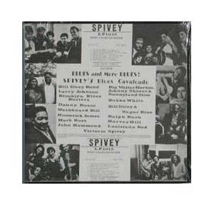Cover - Victoria Spivey: Blues And More Blues! Spivey's Blues Cavalcade