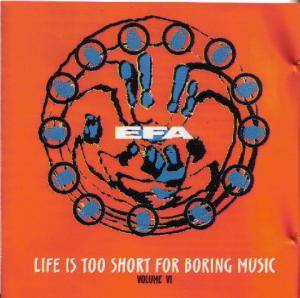 Cover - Klezmatics, The: EFA Life Is Too Short For Boring Music Volume VI