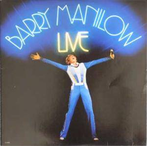 Barry Manilow: Live - Cover