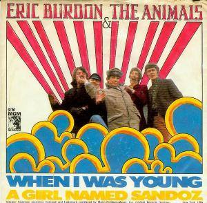 Cover - Eric Burdon & The Animals: When I Was Young