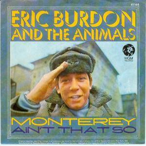 Cover - Eric Burdon & The Animals: Monterey
