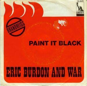 Eric Burdon & War: Paint It Black - Cover